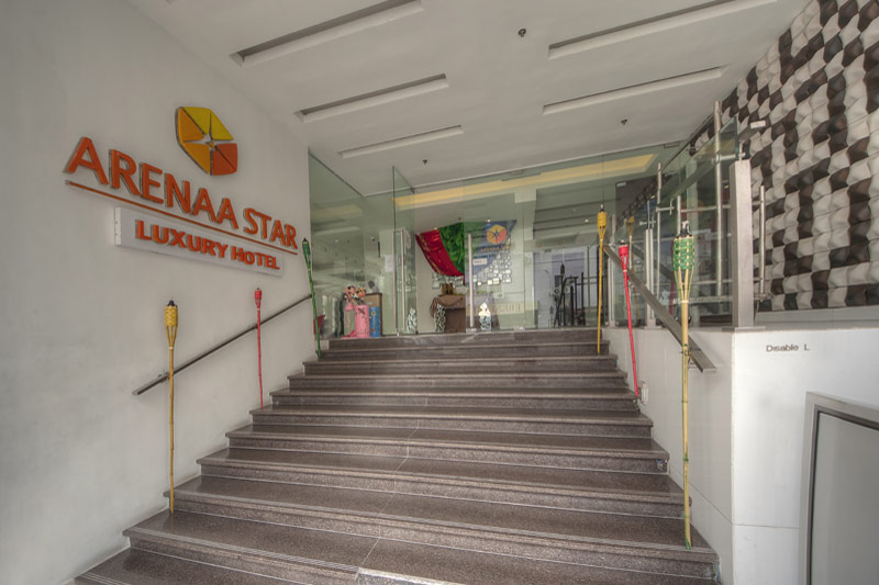 Building Entrance Arenaa Star Hotel Kuala Lumpur Official Site