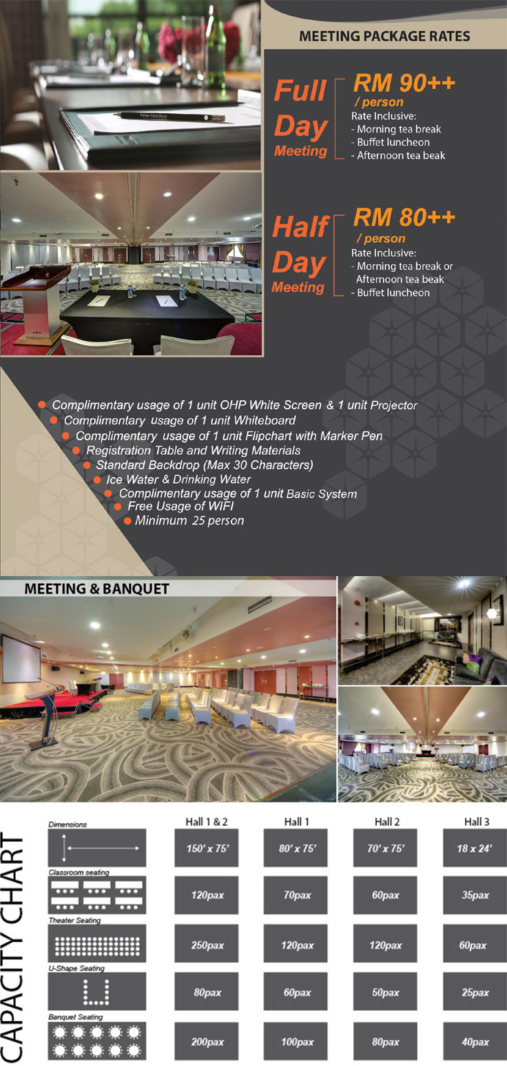 Arenaa Star Conference Hall & Seminar Packages